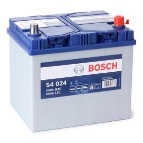 3361077E60 für SUZUKI, Starterbatterie BOSCH (0 092 S40 240) Online-Shop