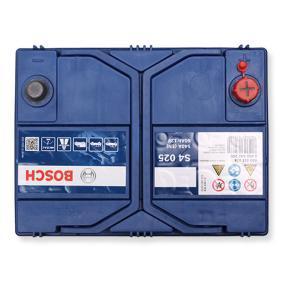 Starterbatterie BOSCH Art.No - 0 092 S40 250 OEM: 288000J020 für TOYOTA, WIESMANN kaufen