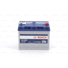 BOSCH 0 092 S40 260 Starterbatterie OEM - 1060816 FORD, GEO günstig