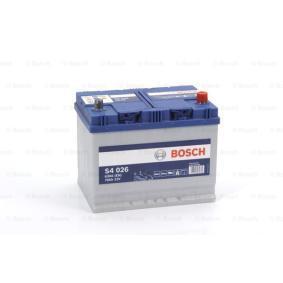 BOSCH Starterbatterie (0 092 S40 260) niedriger Preis