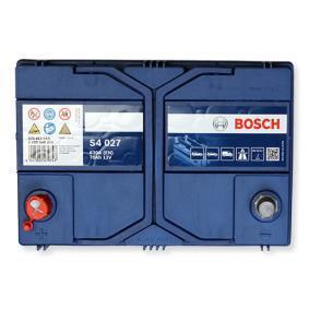 Starterbatterie BOSCH Art.No - 0 092 S40 270 OEM: EC0730008 für VW, OPEL, SKODA, TOYOTA, NISSAN kaufen