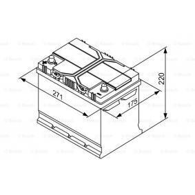 EC0730008 für VW, OPEL, SKODA, TOYOTA, NISSAN, Starterbatterie BOSCH (0 092 S40 270) Online-Shop