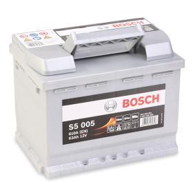 Starterbatterie BOSCH Art.No - 0 092 S50 050 OEM: 61216927453 für VW, OPEL, BMW, AUDI, FORD kaufen