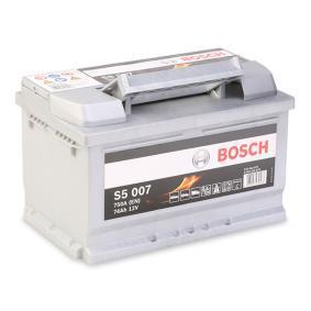 Starterbatterie BOSCH Art.No - 0 092 S50 070 OEM: 191915105Q für VW, AUDI, SKODA, SEAT kaufen