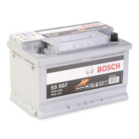 BOSCH Starterbatterie 191915105Q für VW, AUDI, SKODA, SEAT bestellen