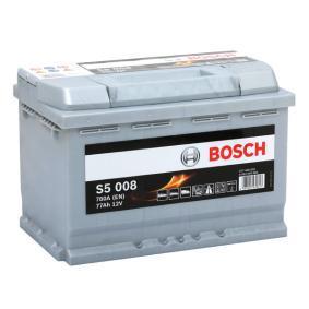 Batería (0 092 S50 080) fabricante BOSCH para AUDI A4 1.9 TDI 130 CV año de fabricación 11.2000 beneficioso