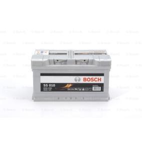BOSCH 0 092 S50 100 Starterbatterie OEM - 000915105AJ AUDI, SEAT, SKODA, VW, VAG günstig
