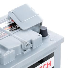 Batterie (0 092 S50 100) hertseller BOSCH für RENAULT ESPACE IV (JK0/1_) ab Baujahr 01.2006, 131 PS Online-Shop