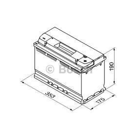 BOSCH VW TOURAN Batterie (0 092 S50 130)