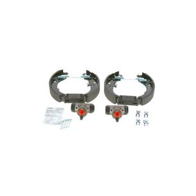 PANDA (169) BOSCH Brake shoes and drums 0 204 114 619