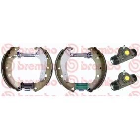 Bremsensatz, Trommelbremse BREMBO Art.No - K 23 059 OEM: 7083041 für FIAT, ALFA ROMEO, LANCIA kaufen