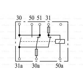 Batterierelais BOSCH Art.No - 0 333 300 003 OEM: 389120 für kaufen