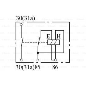 A0005427219 für MERCEDES-BENZ, Batterierelais BOSCH (0 333 301 010) Online-Shop