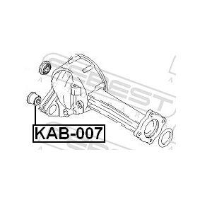 FEBEST Lagerung, Differential 0K01139550 für HYUNDAI, KIA bestellen
