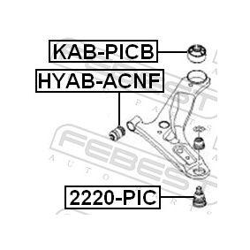 FEBEST Control Arm- / Trailing Arm Bush 5458407000 for HYUNDAI, KIA acquire