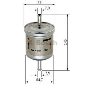 BOSCH CHEVROLET AVEO Filtro de combustible (0 450 905 976)