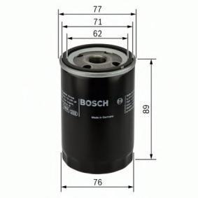 BOSCH Filtro de aceite motor (0 451 103 079)