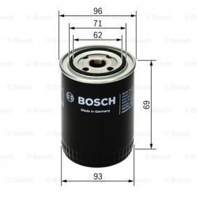 21051012005 pour FORD, CHEVROLET, LADA, GAZ, Filtre à huile BOSCH (0 451 103 274) Boutique en ligne