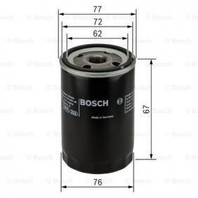 BOSCH FIAT STILO Sistema de ventilación del cárter (0 451 103 300)