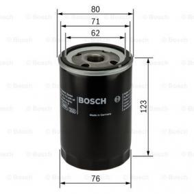 BOSCH Filtro de óleo 3165143164129