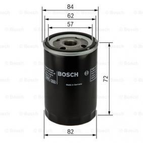 BOSCH 0 451 103 316 Ölfilter OEM - RF0123802A AUWÄRTER, MAZDA, MITSUBISHI, MERCURY, KIA günstig