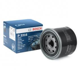 6 Hatchback (GH) BOSCH Oil filter 0 451 103 316