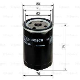 BOSCH 0 451 103 318 Ölfilter OEM - 04E115561 AUDI, SEAT, SKODA, VW, VAG, STARK, RIDEX günstig