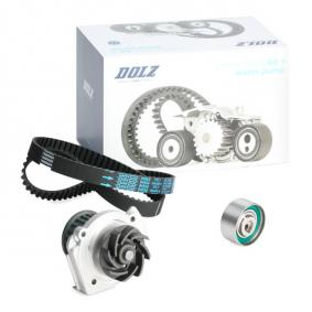 PANDA (169) DOLZ Water pump + timing belt kit KD060