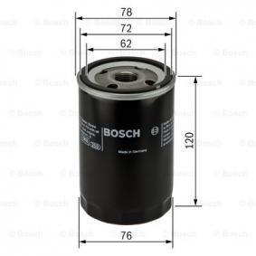 BOSCH 0 451 103 344 Oil Filter OEM - 1JM115561BZ AUDI, SEAT, SKODA, VW, VAG, WIESMANN, NPS, CUPRA cheaply