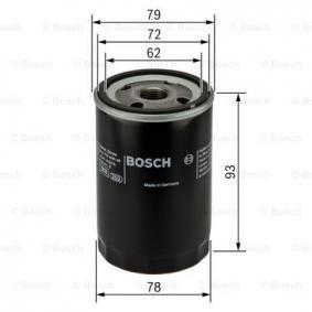 BOSCH MAZDA 5 Oil filter (0 451 103 363)