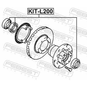 Kit cuscinetto ruota KIT-L200 FEBEST