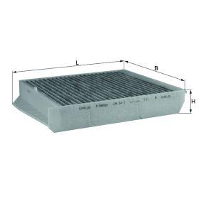 MAHLE ORIGINAL Filter, Innenraumluft LAK 54/1