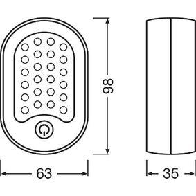 OSRAM Handleuchte, Art. Nr.: LEDIL202