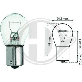 Stop light bulb DIEDERICHS (LID10046) for FIAT PUNTO Prices