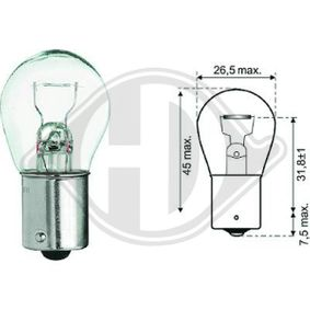 Крушка за стоп светлини LID10047 DIEDERICHS