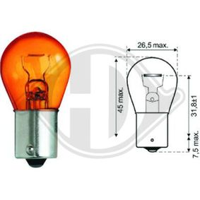 Reverse light bulb LID10048 DIEDERICHS