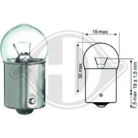 Крушка с нагреваема жичка, светлини купе LID10059 онлайн магазин