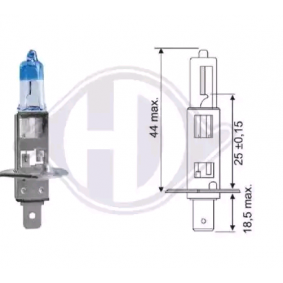 Glühlampe, Hauptscheinwerfer DIEDERICHS Art.No - LID10065 OEM: N0177616 für VW, AUDI kaufen