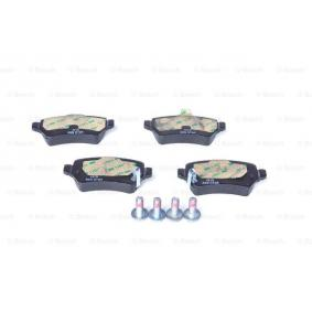 BOSCH 0 986 424 646 Bremsbelagsatz, Scheibenbremse OEM - 93170602 FORD, OPEL, SAAB, SKODA, SUBARU, VAUXHALL, CHEVROLET, RELIANCE, KIA, DAEWOO, GENERAL MOTORS, HOLDEN, FERODO, LRT, A.B.S., NPS, IPS Parts, OEMparts, ASAM, EUROREPAR günstig