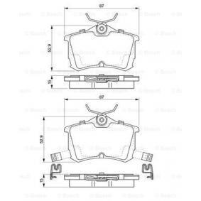 HONDA ACCORD 2.0 TDi 105 CV año de fabricación 12.1999 - Válvulas (0 986 424 661) BOSCH Tienda online