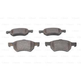 Bremsbelagsatz, Scheibenbremse BOSCH Art.No - 0 986 424 668 OEM: 5015365AA für ALFA ROMEO, JEEP, CHRYSLER, DODGE kaufen