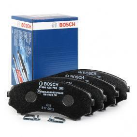 Pajero Sport I SUV (K7_, K9_) BOSCH Kit pastiglie freno a disco 0 986 424 709
