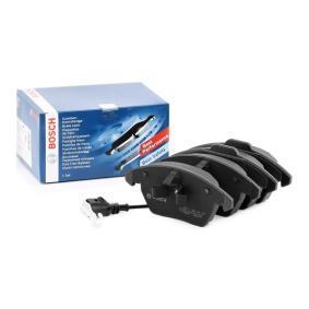 8J0698151C pour VOLKSWAGEN, AUDI, SEAT, SKODA, Kit de plaquettes de frein, frein à disque BOSCH (0 986 424 797) Boutique en ligne