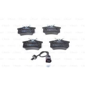 BOSCH Bremsbelagsatz, Scheibenbremse 6Q0698451 für VW, AUDI, SKODA, SEAT, HONDA bestellen