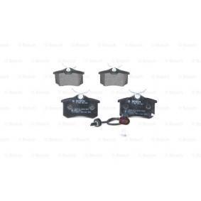 6Q0698451 für VW, AUDI, SKODA, SEAT, HONDA, Bremsbelagsatz, Scheibenbremse BOSCH (0 986 424 813) Online-Shop