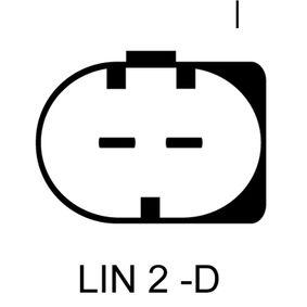 Generator LUCAS ELECTRICAL Art.No - LRA03446 OEM: 0131549002 für MERCEDES-BENZ kaufen