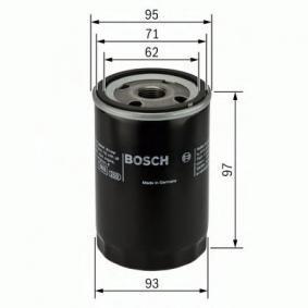 BOSCH Filtro recirculación de gases (0 986 452 003)