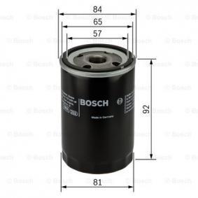 BOSCH Filtro recirculación de gases (0 986 452 036)