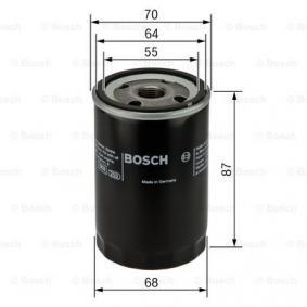 BOSCH Rubber strip, exhaust system (0 986 452 041)