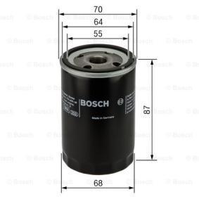 BOSCH Filtro recupero vapori olio (0 986 452 041)